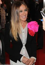 best hairstyles for a 48 year old sarah jessica parker does her tv character proud in a sheer shirt