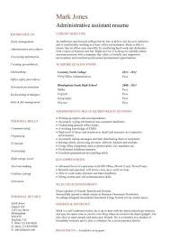 Administrative Assistant Key Skills For Resume Celebrity Personal Assistant Resume Template Billybullock Us