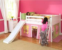 Diy Toddler Bunk Beds Toddler Bed With Slide Add A Slide To Your High Bunk Bed With The