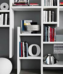 wall storage book shelves system design ideas for workspace in