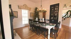fixer upper dining table fixer upper video magnolia house dining area hgtv ca