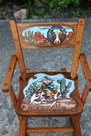Childrens Rocking Chairs Personalized 755 Best Handpainted Children U0027s Furniture Images On Pinterest