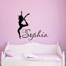 bedroom name dance girls wall art sticker decal home diy name dance girls wall art sticker decal home diy decoration wall dance wall art l cee11b5290e3ff33