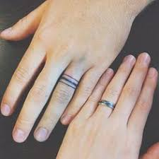 78 wedding ring tattoos done to symbolize your wedding ring