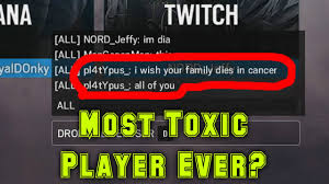 siege dia most toxic player rainbow six siege