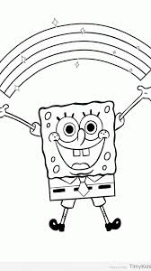 spongebob coloring page timykids