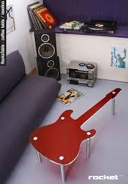 funky home decor fun accessories guitar design walls image