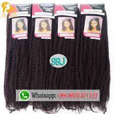 gray marley braid hair afro kinky twist hair crochet braids 12 colors ombre marley braid