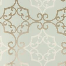 bring instant glamour to any room with this amati wallpaper from