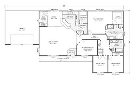 Rambler Floor Plans With Basement by 28 Rambler Floor Plans Rambler Floor Plans Plan 203131 Tjb