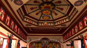 Decoration Of Durga Puja Pandal Thing Of Awe Place Of Worship Decorated Durga Puja Pandal Youtube
