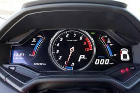 ferrari 458 speedometer 2015 lamborghini huracán lp610 4 review digital trends