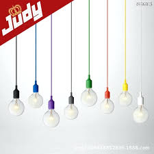 light cords pendant lights buy colorful silicone l holder