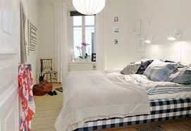 chic small apartment bedroom ideas with nice queen bed size simple