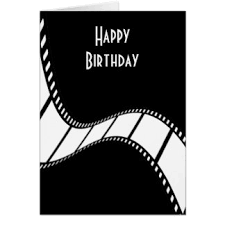 film making greeting cards zazzle