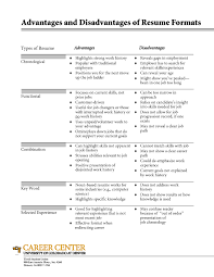 types of resumes resume templates