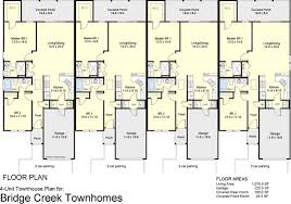 townhouse designs 4 plex townhouse floor plans 4 plex apartment floor plans