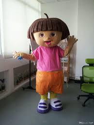 Dora Halloween Costume Adults Custom 3d Dora Girls Cartoon Character Mascot Costumes Plush