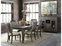 transitional dining room sets magnussen home sutton place transitional seven piece dining set