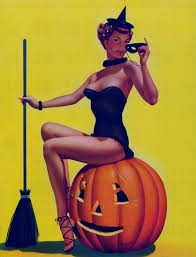 Bill Layne's pinup witch, 1966 | Sexy Witch