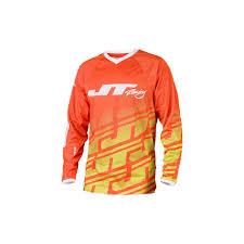 jt racing motocross gear jt racing usa mx jersey flex echo orange n yellow white 2015