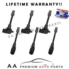 nissan maxima ignition coil pack of 6 premium ignition coils for 96 99 nissan maxima infiniti