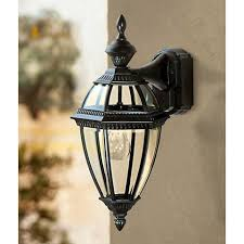 Outdoor Dusk To Dawn Light Heritage Black 21