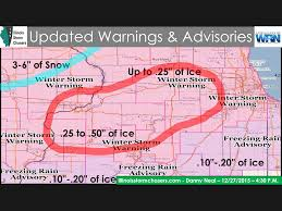 Map Of Peoria Illinois by December 28th 2015 Winter Storm U2013 Illinois Storm Chasers