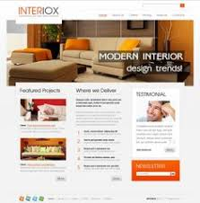Home Decorating Website Decoration Modern Furniture Website Front Page Screen Grab