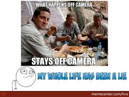 Bear Gryls Meme - why bear grylls why by hvs meme center