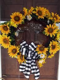 sunflower wreath homemaking dreams the diy sunflower wreath redo