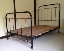 furniture antique look of cast iron bed frame for renewing your