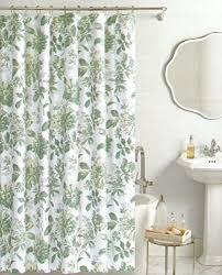 Botanical Shower Curtains Miller Botanical Nature Fabric Shower Curtain Cotton Bland