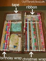 ways to store wrapping paper how to organize and store wrapping paper giveaway