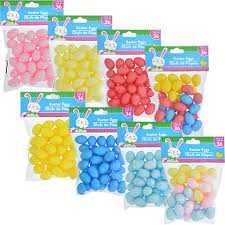 bulk easter eggs bulk glittery foam easter eggs 36 ct packs at dollartree