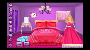 barbie bedroom decoration game clara gameplay youtube