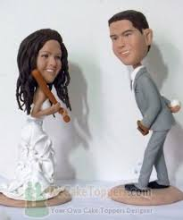 baseball wedding cake toppers wedding cake toppers custom cake toppers