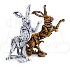 hare edge sculpture be fabulous