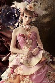 multi color wedding dress color wedding dresses by stella de libero wedding and