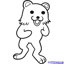 how to draw pedobear pedobear step by step characters pop