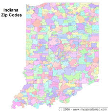 Zip Code Map Richmond Va by Indiana Zip Code Maps Free Indiana Zip Code Maps