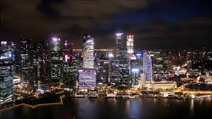 infinity pool at marina bay sands hotel singapore youtube