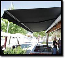 roof to fence awnings great space saver outdoor shade blinds