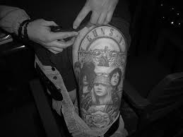 guns and roses tattoos clickandseeworld is all about funny