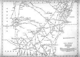 Map Of West Tennessee by P Fmsig 1948 U S Railroad Atlas
