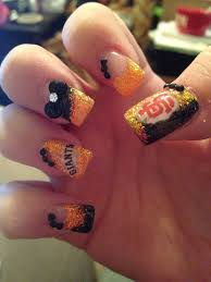 41 best sf giants nails hair and makeup images on pinterest san