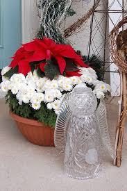 christmas angel made from upcycled glass dishes and a vase the