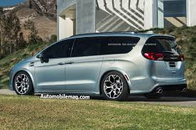 never be late for again imagining a chrysler pacifica hellcat