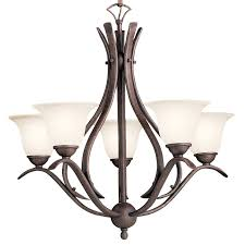 Kichler Lighting Chandelier 2020tz Dover Five Light Chandelier
