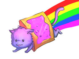 Nyan Meme - art sci nyan cat meme fan art